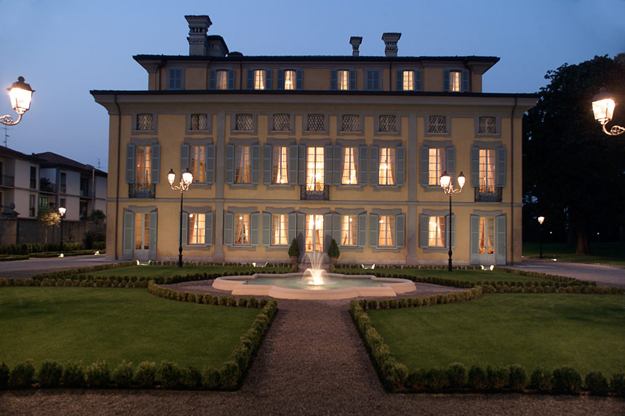 Terrazza e parco - Villa Cavenago - Trezzo sull\'Adda (Milano)